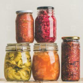 Pickles & Vegetables in Jars